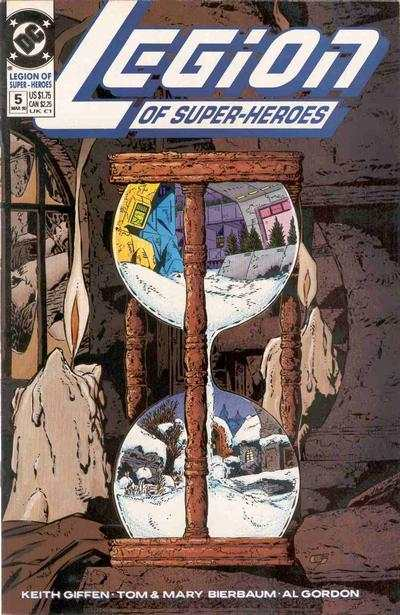 Legion of Super-Heroes #5 comic books - cover scans photos Legion of Super-Heroes #5 comic books - covers, picture gallery