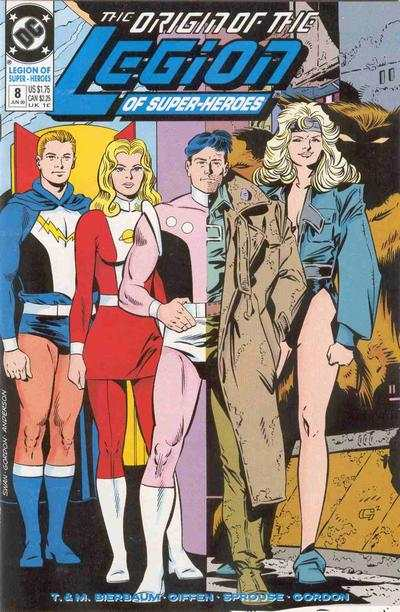 Legion of Super-Heroes #8 comic books - cover scans photos Legion of Super-Heroes #8 comic books - covers, picture gallery