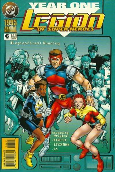 Legion of Super-Heroes #6 comic books for sale