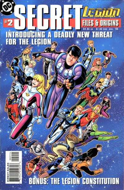 Legion of Super-Heroes #1 comic books - cover scans photos Legion of Super-Heroes #1 comic books - covers, picture gallery