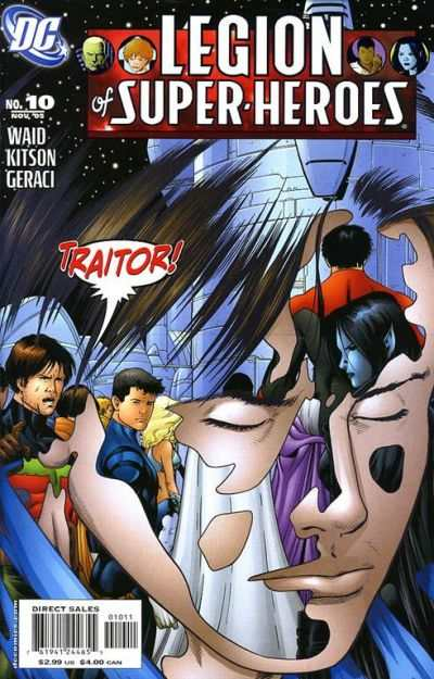 Legion of Super-Heroes #10 Comic Books - Covers, Scans, Photos  in Legion of Super-Heroes Comic Books - Covers, Scans, Gallery