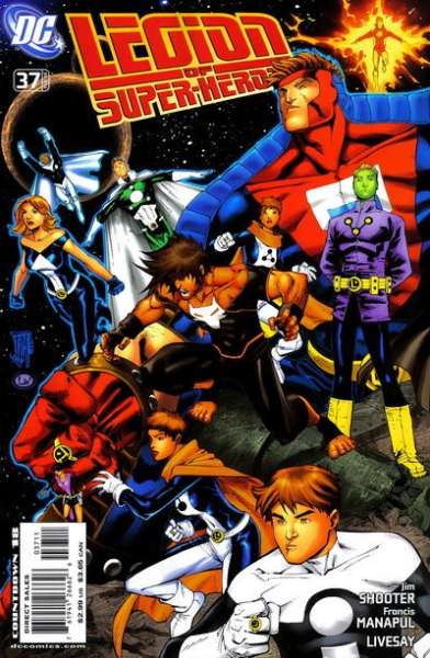 Legion of Super-Heroes #37 comic books - cover scans photos Legion of Super-Heroes #37 comic books - covers, picture gallery