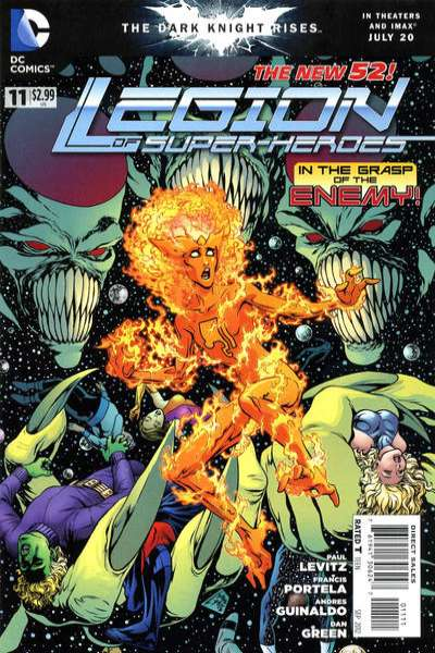 Legion of Super-Heroes #11 Comic Books - Covers, Scans, Photos  in Legion of Super-Heroes Comic Books - Covers, Scans, Gallery