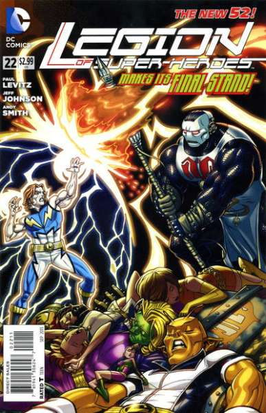 Legion of Super-Heroes #22 Comic Books - Covers, Scans, Photos  in Legion of Super-Heroes Comic Books - Covers, Scans, Gallery