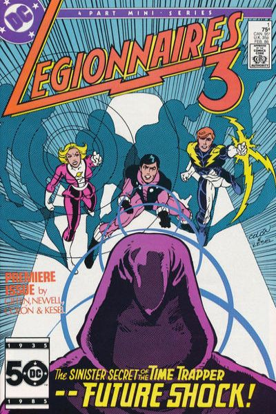 Legionnaires Three Comic Books. Legionnaires Three Comics.