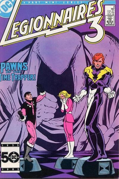 Legionnaires Three #2 comic books for sale