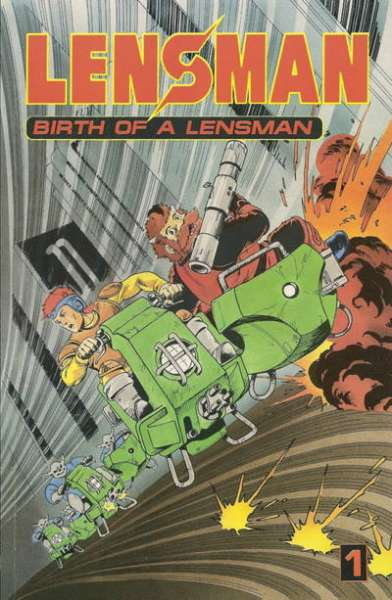 Lensman: Birth of a Lensman comic books