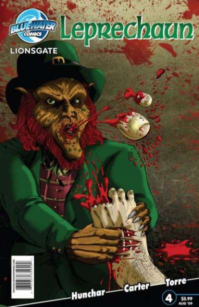 Leprechaun #4 comic books for sale