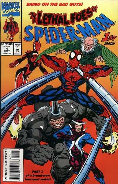 Lethal Foes of Spider-Man #1 comic books - cover scans photos Lethal Foes of Spider-Man #1 comic books - covers, picture gallery