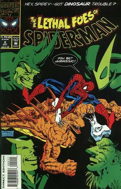 Lethal Foes of Spider-Man #2 comic books - cover scans photos Lethal Foes of Spider-Man #2 comic books - covers, picture gallery