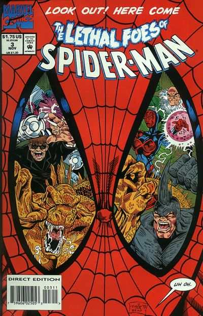 Lethal Foes of Spider-Man #3 comic books - cover scans photos Lethal Foes of Spider-Man #3 comic books - covers, picture gallery