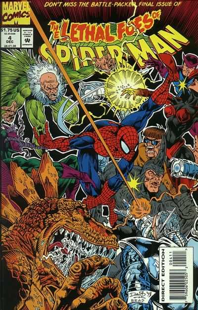 Lethal Foes of Spider-Man #4 comic books - cover scans photos Lethal Foes of Spider-Man #4 comic books - covers, picture gallery