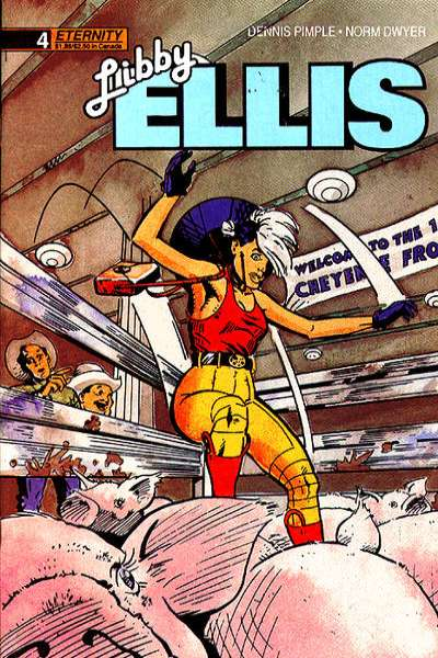 Libby Ellis #4 comic books for sale