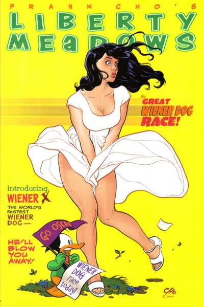 Liberty Meadows #16 comic books for sale