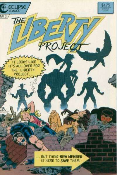 Liberty Project #3 comic books for sale