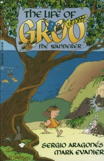 Life of Groo #1 comic books - cover scans photos Life of Groo #1 comic books - covers, picture gallery