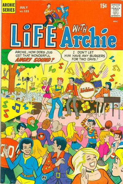 Life with Archie #111 comic books - cover scans photos Life with Archie #111 comic books - covers, picture gallery