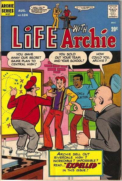 Life with Archie #124 comic books - cover scans photos Life with Archie #124 comic books - covers, picture gallery