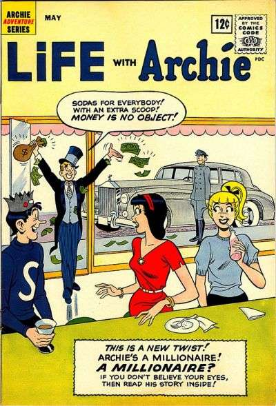 Life with Archie #14 Comic Books - Covers, Scans, Photos  in Life with Archie Comic Books - Covers, Scans, Gallery