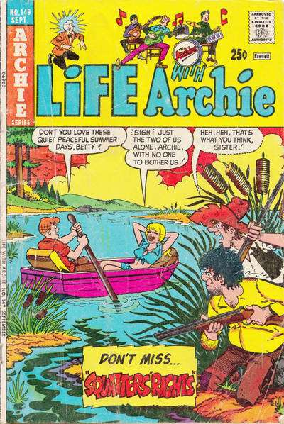 Life with Archie #149 comic books for sale