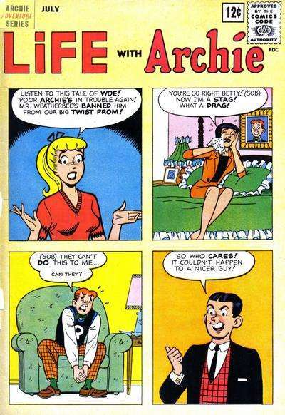 Life with Archie #15 comic books - cover scans photos Life with Archie #15 comic books - covers, picture gallery