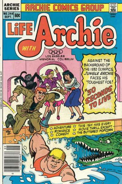 Life with Archie #244 comic books for sale