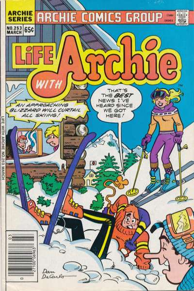 Life with Archie #253 Comic Books - Covers, Scans, Photos  in Life with Archie Comic Books - Covers, Scans, Gallery