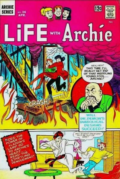 Life with Archie #36 Comic Books - Covers, Scans, Photos  in Life with Archie Comic Books - Covers, Scans, Gallery