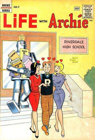 Life with Archie #9 Comic Books - Covers, Scans, Photos  in Life with Archie Comic Books - Covers, Scans, Gallery