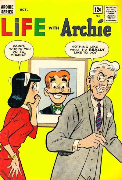 Life with Archie #23 comic books - cover scans photos Life with Archie #23 comic books - covers, picture gallery