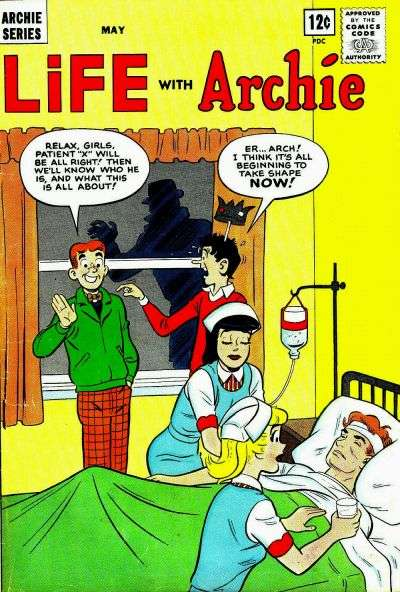 Life with Archie #27 comic books - cover scans photos Life with Archie #27 comic books - covers, picture gallery