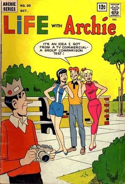 Life with Archie #30 comic books - cover scans photos Life with Archie #30 comic books - covers, picture gallery