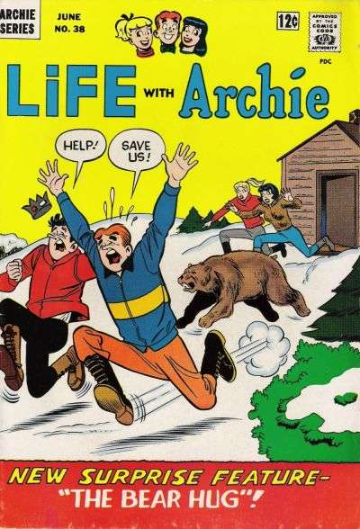 Life with Archie #38 comic books - cover scans photos Life with Archie #38 comic books - covers, picture gallery