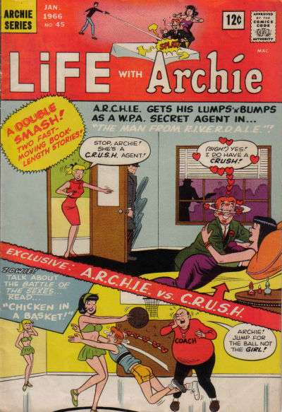 Life with Archie #45 comic books - cover scans photos Life with Archie #45 comic books - covers, picture gallery