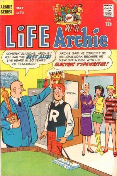 Life with Archie #73 comic books - cover scans photos Life with Archie #73 comic books - covers, picture gallery
