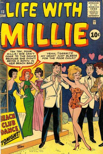 Life with Millie #13 comic books for sale