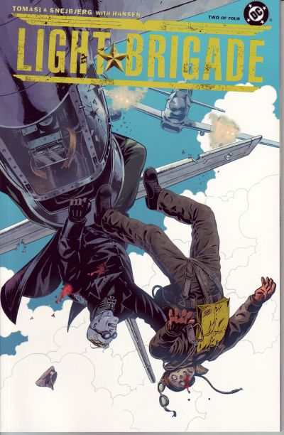 Light Brigade #2 Comic Books - Covers, Scans, Photos  in Light Brigade Comic Books - Covers, Scans, Gallery