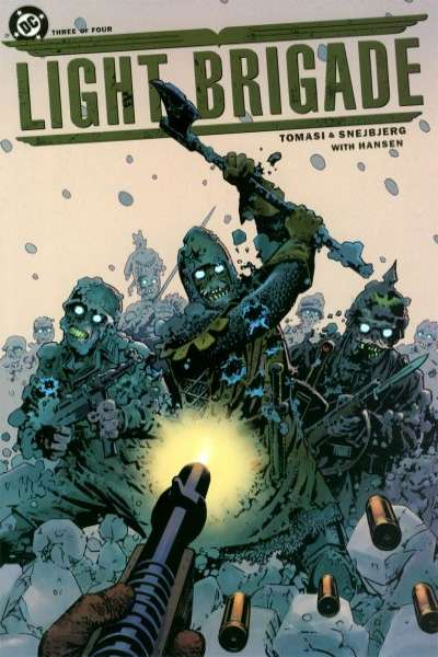 Light Brigade #3 comic books for sale