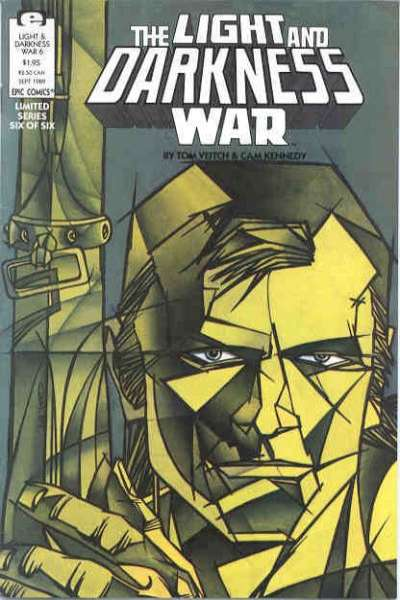 Light and Darkness War #6 Comic Books - Covers, Scans, Photos  in Light and Darkness War Comic Books - Covers, Scans, Gallery