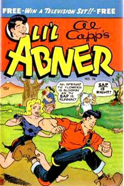 Li'l Abner #76 Comic Books - Covers, Scans, Photos  in Li'l Abner Comic Books - Covers, Scans, Gallery