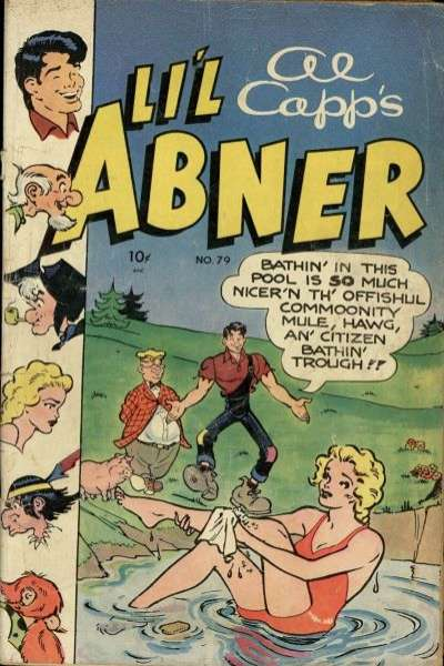 Li'l Abner #79 Comic Books - Covers, Scans, Photos  in Li'l Abner Comic Books - Covers, Scans, Gallery