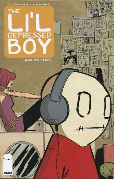 Li'l Depressed Boy comic books