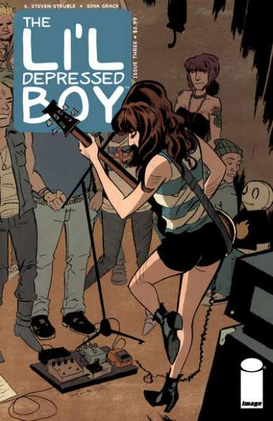 Li'l Depressed Boy #3 comic books - cover scans photos Li'l Depressed Boy #3 comic books - covers, picture gallery
