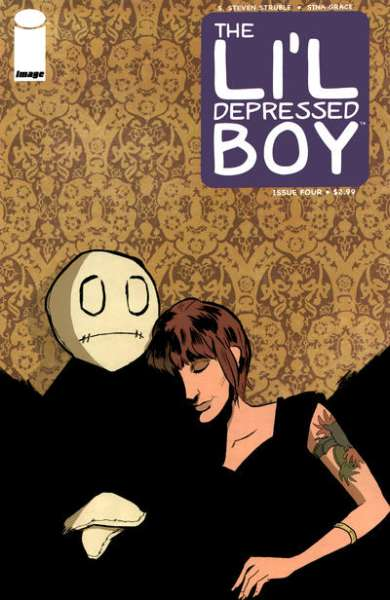 Li'l Depressed Boy #4 comic books - cover scans photos Li'l Depressed Boy #4 comic books - covers, picture gallery