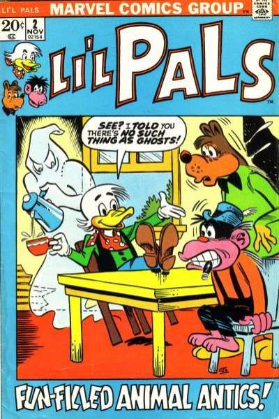 Li'l Pals #2 Comic Books - Covers, Scans, Photos  in Li'l Pals Comic Books - Covers, Scans, Gallery