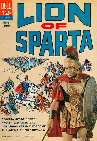 Lion of Sparta comic books