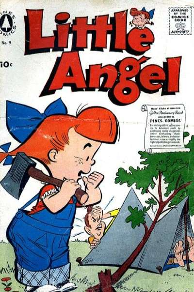 Little Angel #9 comic books for sale