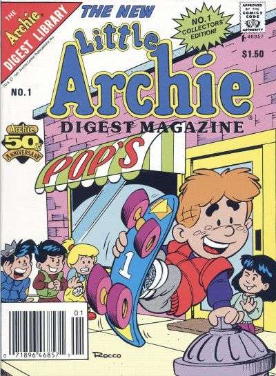 Little Archie Digest Magazine comic books