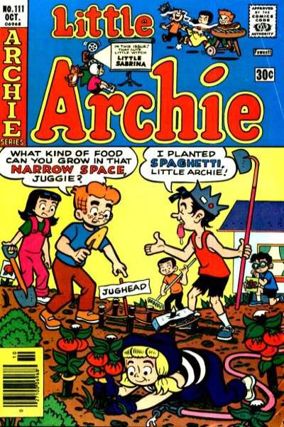 Little Archie #111 comic books - cover scans photos Little Archie #111 comic books - covers, picture gallery