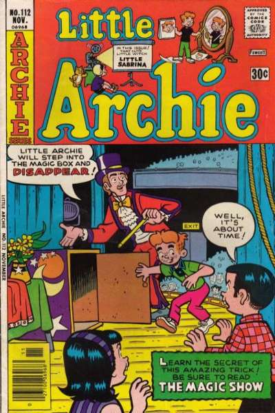 Little Archie #112 Comic Books - Covers, Scans, Photos  in Little Archie Comic Books - Covers, Scans, Gallery
